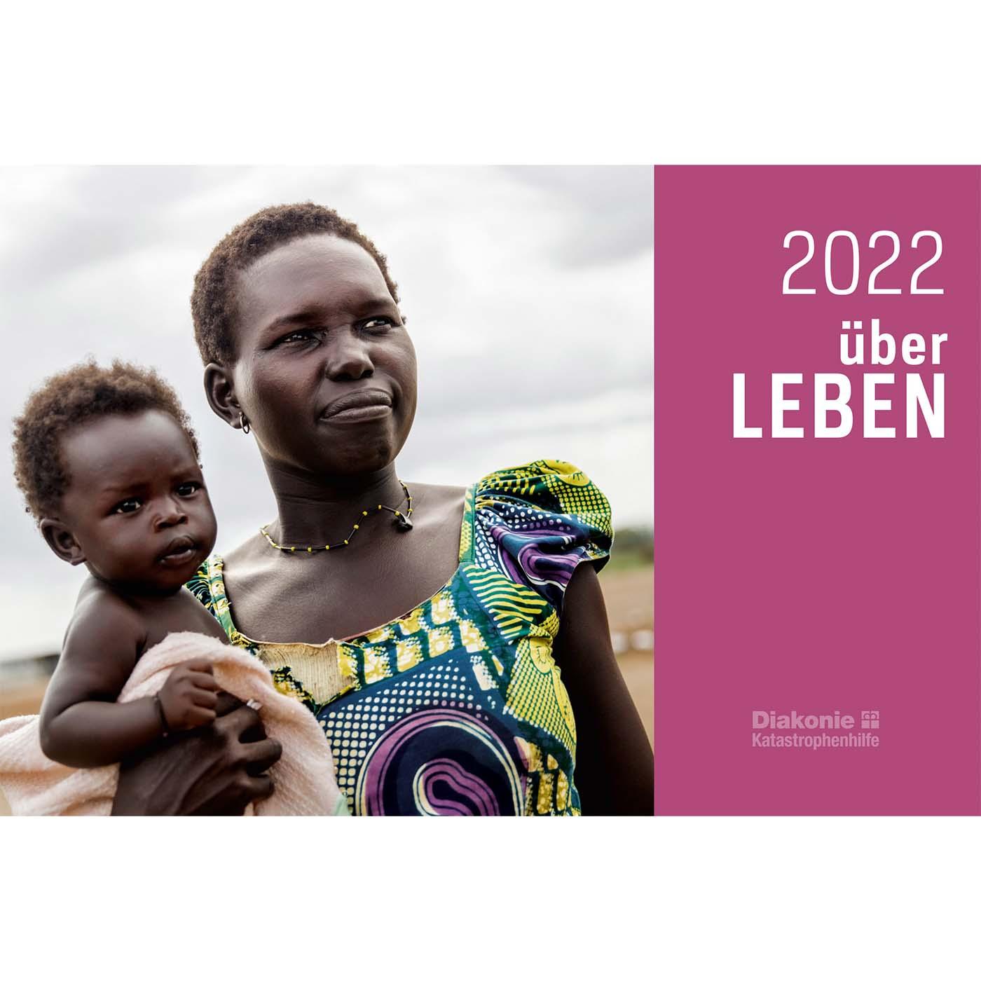 """Tischkalender """"überLEBEN 2022"""""""