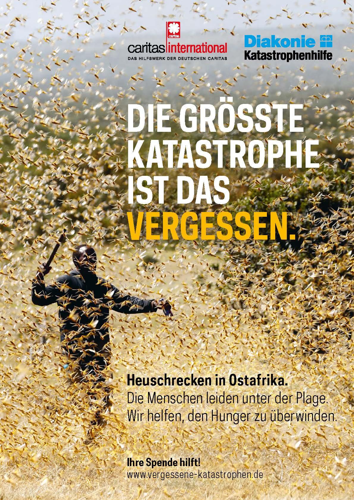 Plakat: Die größte Katastrophe ist das Vergessen