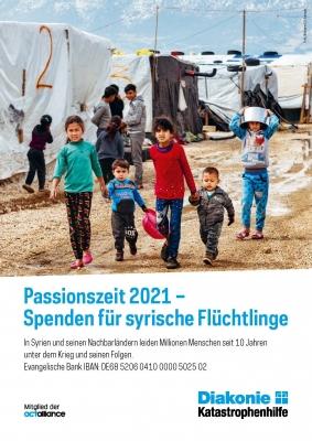 "Plakat ""Passionszeit"""