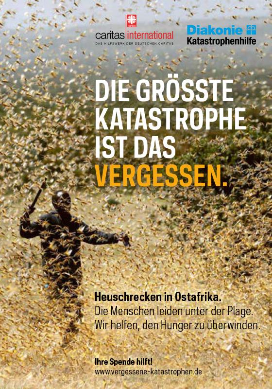 Faltblatt: Die größte Katastrophe ist das Vergessen.